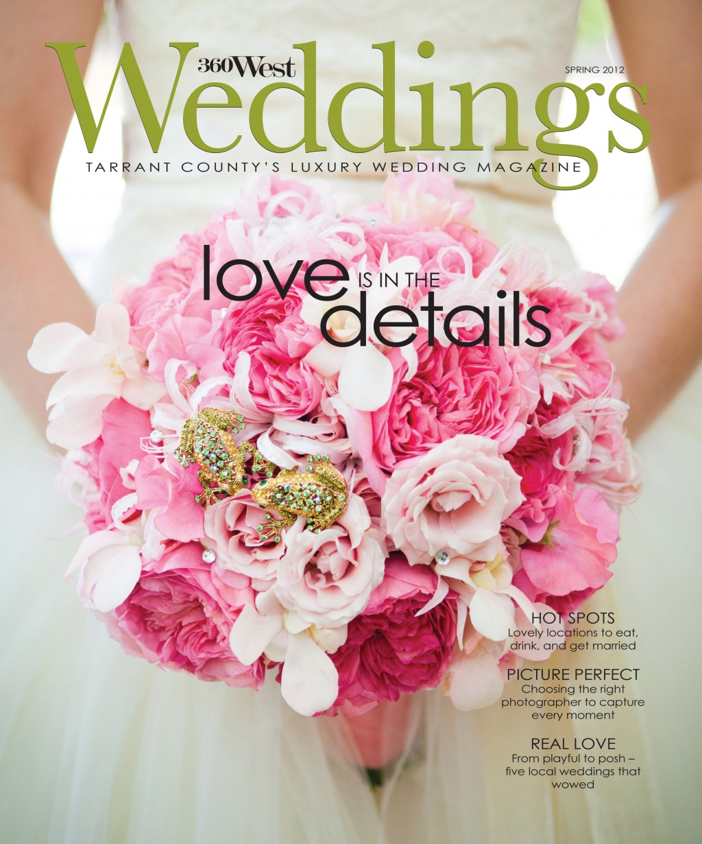 360 West Weddings Cover: Fort Worth Floral Design   Tami Winn Events